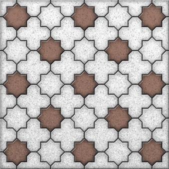 Graue pflasterung textur