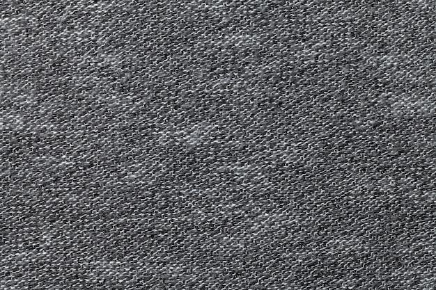 Graue textilhintergrundnahaufnahme
