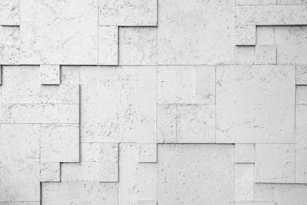 Grauer geometrischer 3d-hintergrund