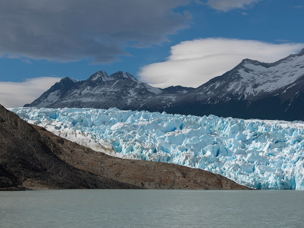 Grauer gletscher, grey lake, nationalpark torres del paine, patagonia, chile