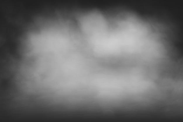 Grauer hintergrund mit schwarzem rauch