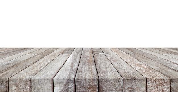 Grauer hölzerner gestreifter tischplattenbeschaffenheitshintergrund