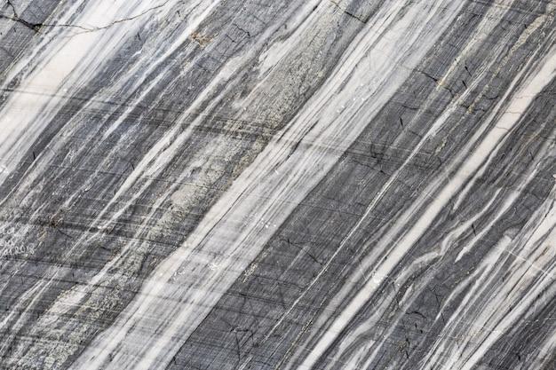 Grauer marmorstein für hintergrund. natürliche marmorstruktur. marmor aus der schlucht ruskeala. russland.