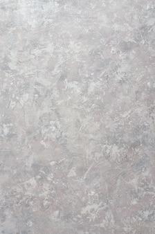 Grauer venezianischer gips, zement, glatte oberfläche, beschaffenheit.
