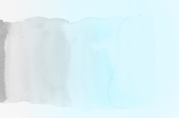 Grauton und blauer pinselstrich