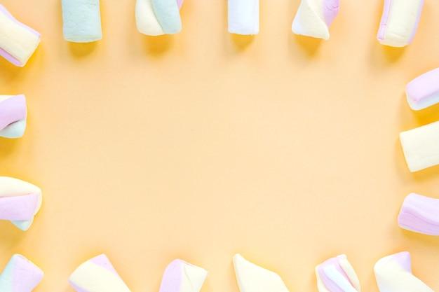 Grenze von marshmallows