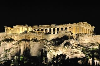 Griechischer tempel historischen