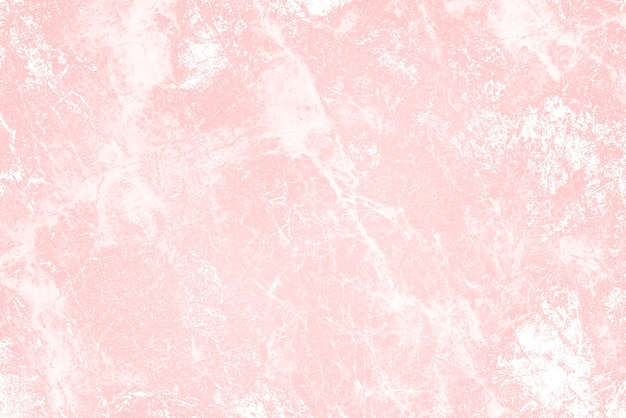Grob bemalte rosa wandstruktur