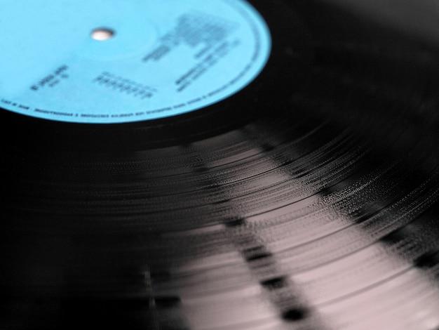 Grooves für schallplatten