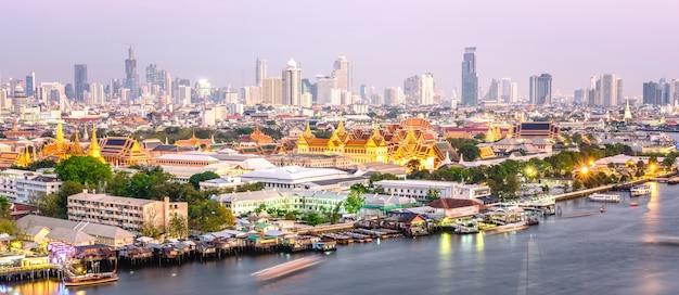 Großartiger palast von bangkok, thailand