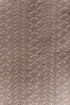 Große handgestrickte decke aus merinowolle