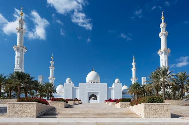 Große moschee von sheikh zayed, vereinigte arabische emirate