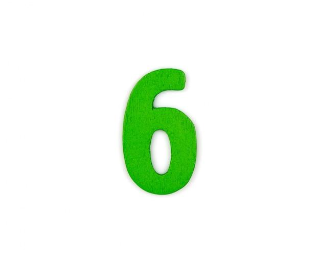 Große nummer 6