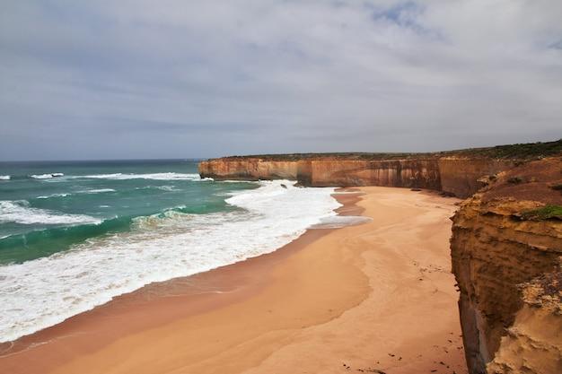 Große ozeanstraße, der indische ozean, australien