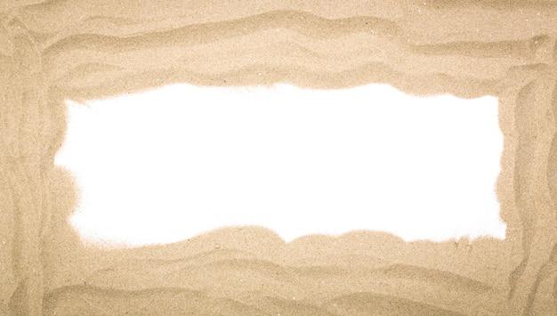 Große sand rahmen