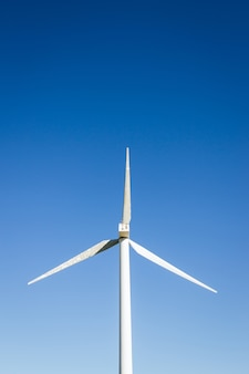 Große windmühle hautnah