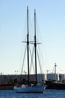 Großen segelboot 1