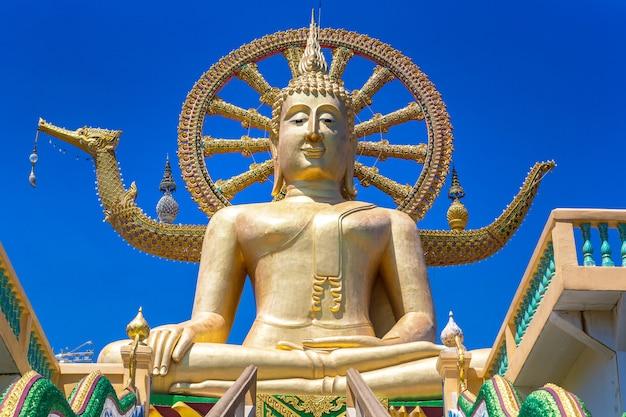 Großer buddha auf koh samui