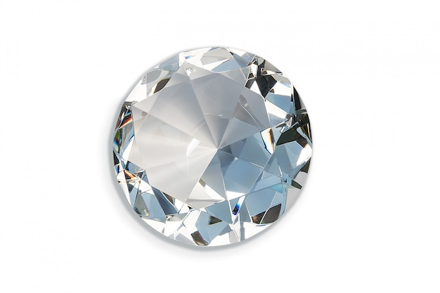 Großer dekorativer diamant