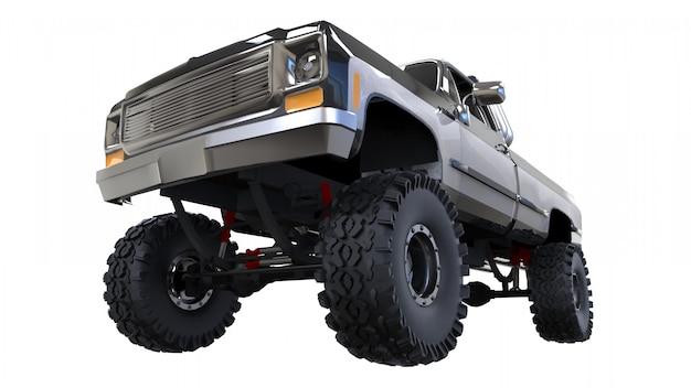 Großer kleinlastwagen nicht für den straßenverkehr