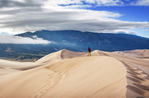 Großer sanddünen-nationalpark, colorado, usa