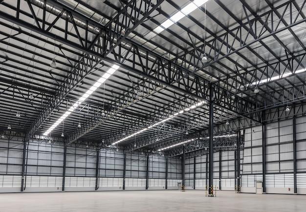 Großes modernes lager im logistikbereich