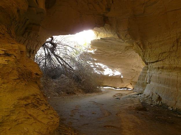 Grotte cappadocia cave rosen durchgang tal