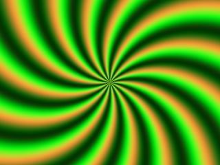 Grün leuchten