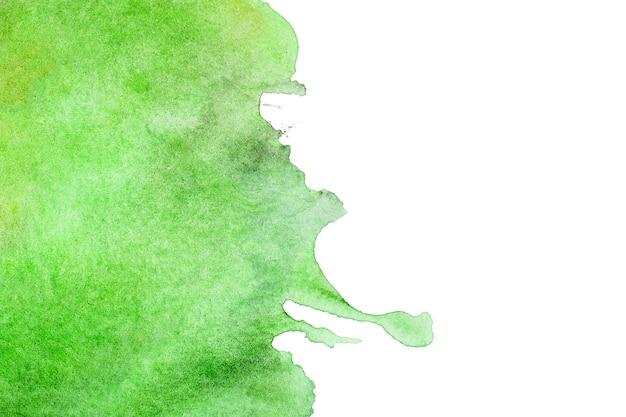 Grün malte abstrakten hintergrund