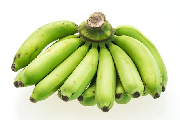 Grüne banane