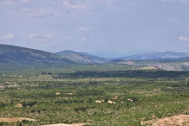 Grüne berge von bosnien und herzegowina