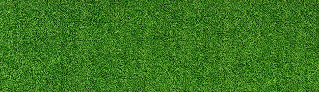 Grüne grasmusterbeschaffenheitshintergrundgraswiesen auf fußballfeld oder golfoberansichtfahne