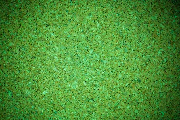 Grüne korkplatte hintergrundtextur.