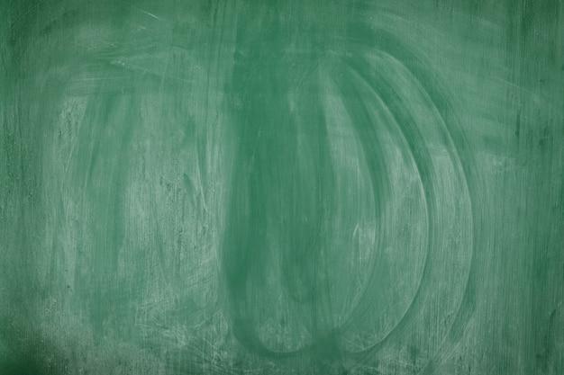 Grüne leere tafel mit radiergummitextur