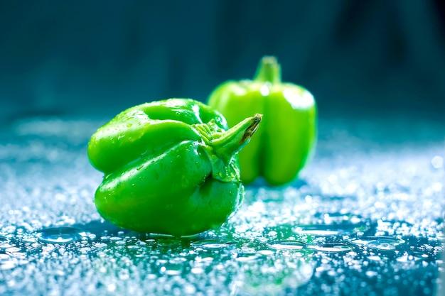 Grüne paprika