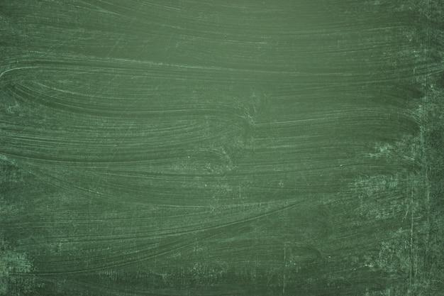Grüne tafel, leerer hintergrund der schulbehörde