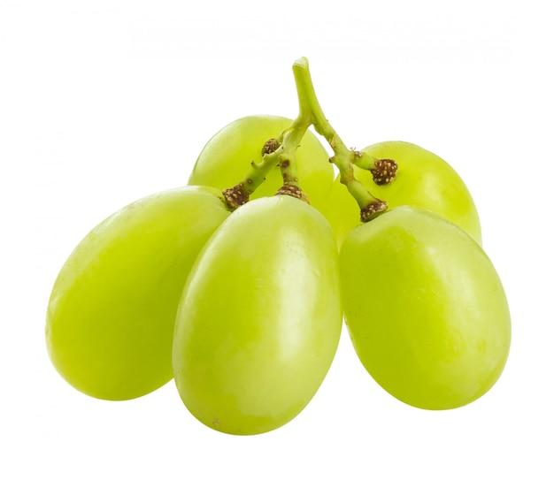 Grüne trauben isoliert