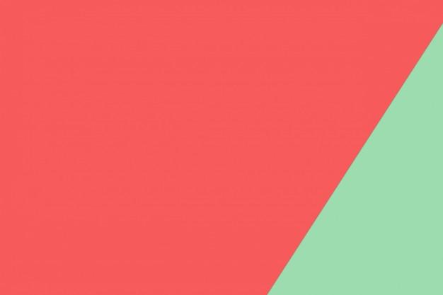 Grüne und rote pastellpapierfarbe für beschaffenheitshintergrund