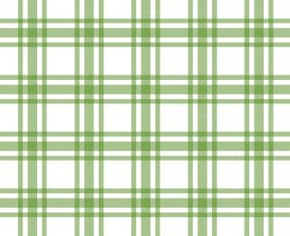Grüne und weiße tischdecke muster