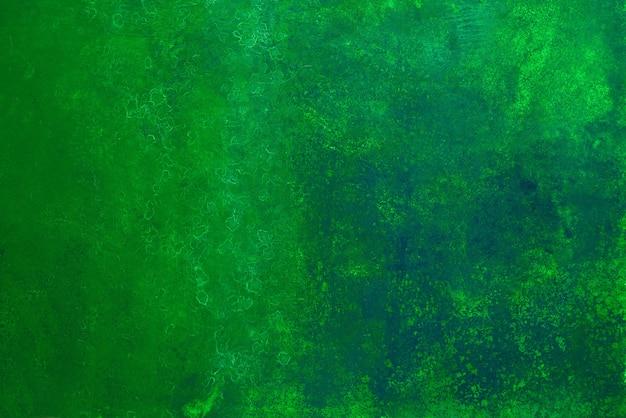 Grüner abstrakter hintergrund gesunder lebensstil abstraktes spirulina-algenkonzept