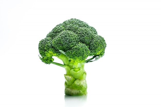 Grüner brokkoli (brassica oleracea)