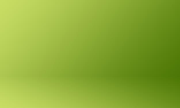 Grüner farbverlauf des studiohintergrunds