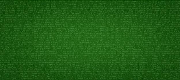 Grüner kunstleder-beschaffenheitluxushintergrund
