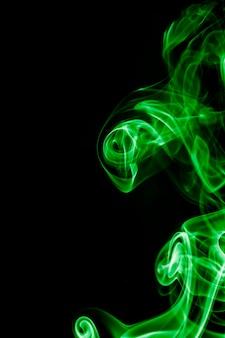 Grüner rauch.