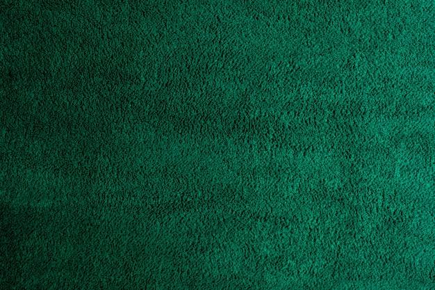 Grüner stoff textur hintergrund, abstrakt, nahaufnahme textur des stoffes