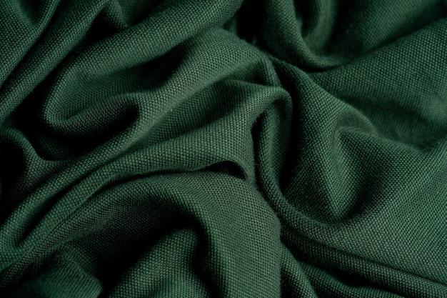 Grüner stoff textur hintergrund