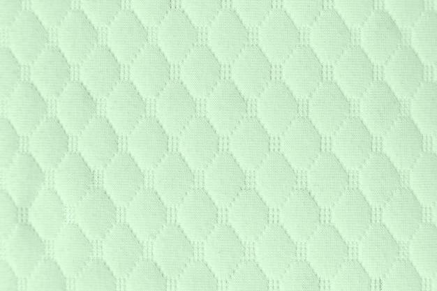 Grüner strukturierter stoffmusterhintergrund für entwurf