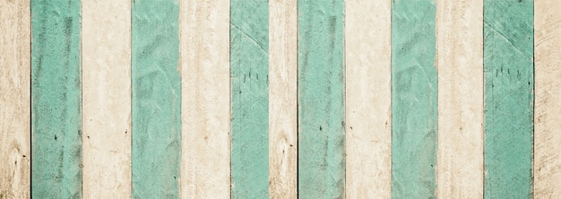 Grüner türkisfarbener und weißer holztafelbeschaffenheitshintergrund