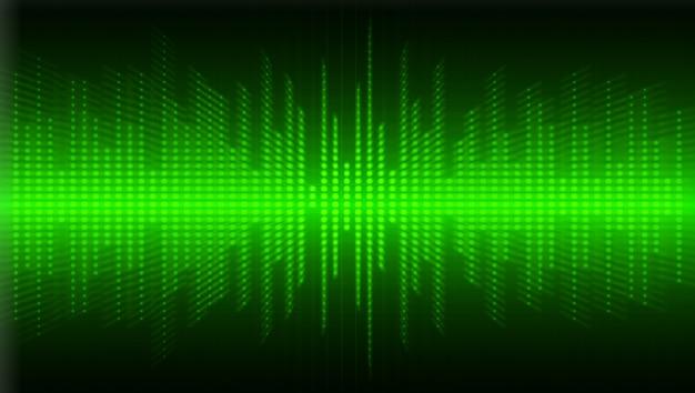 Grüner zoom radiale bewegungsbewegungsunschärfe. zoomender effekt. welle