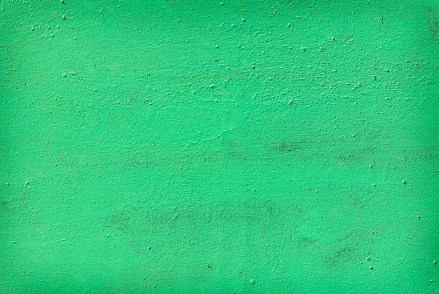 Grünes altes lackiertes metall